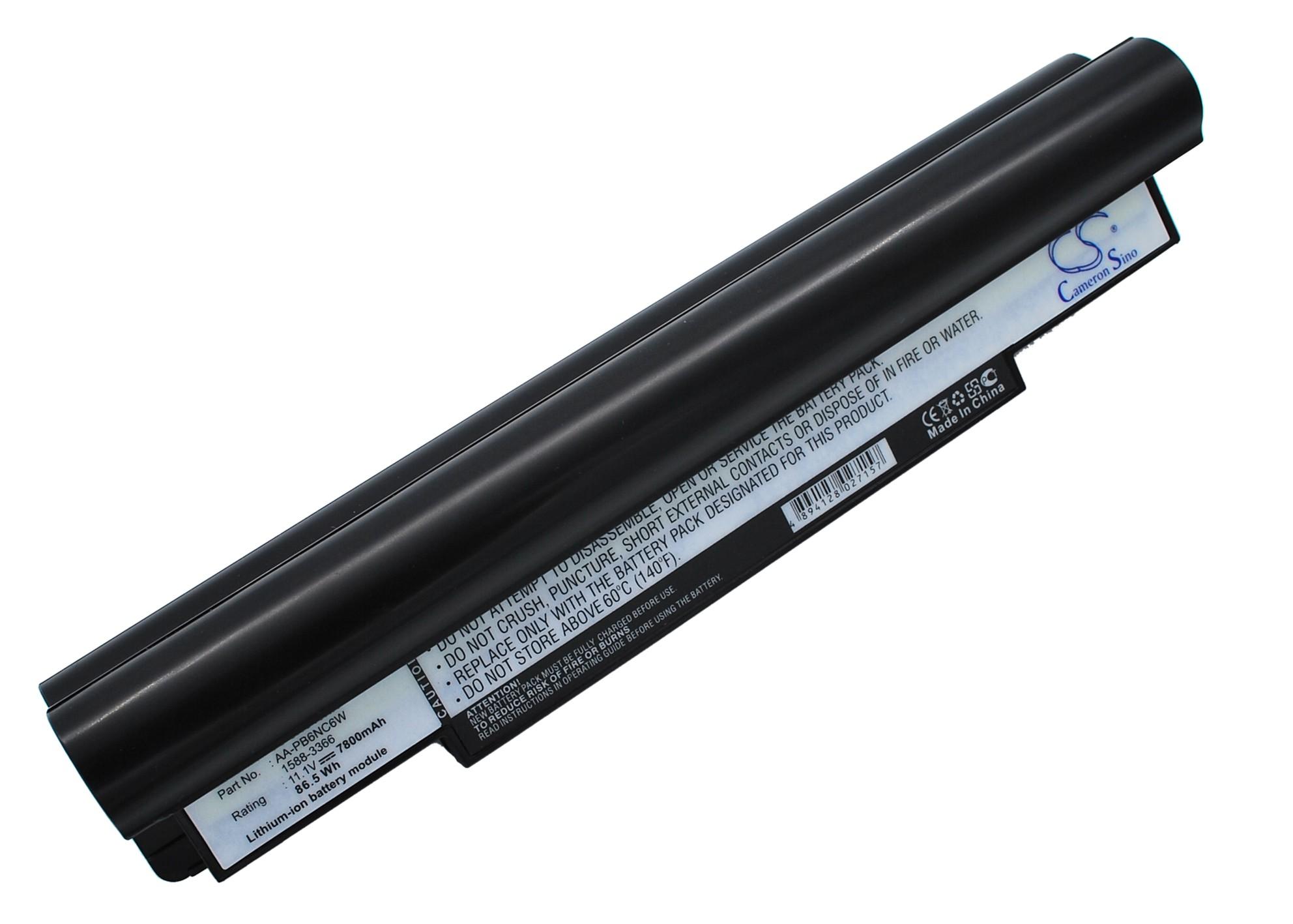 Cameron Sino baterie do notebooků pro SAMSUNG NP-NC10-KA02UK 11.1V Li-ion 7800mAh černá - neoriginální
