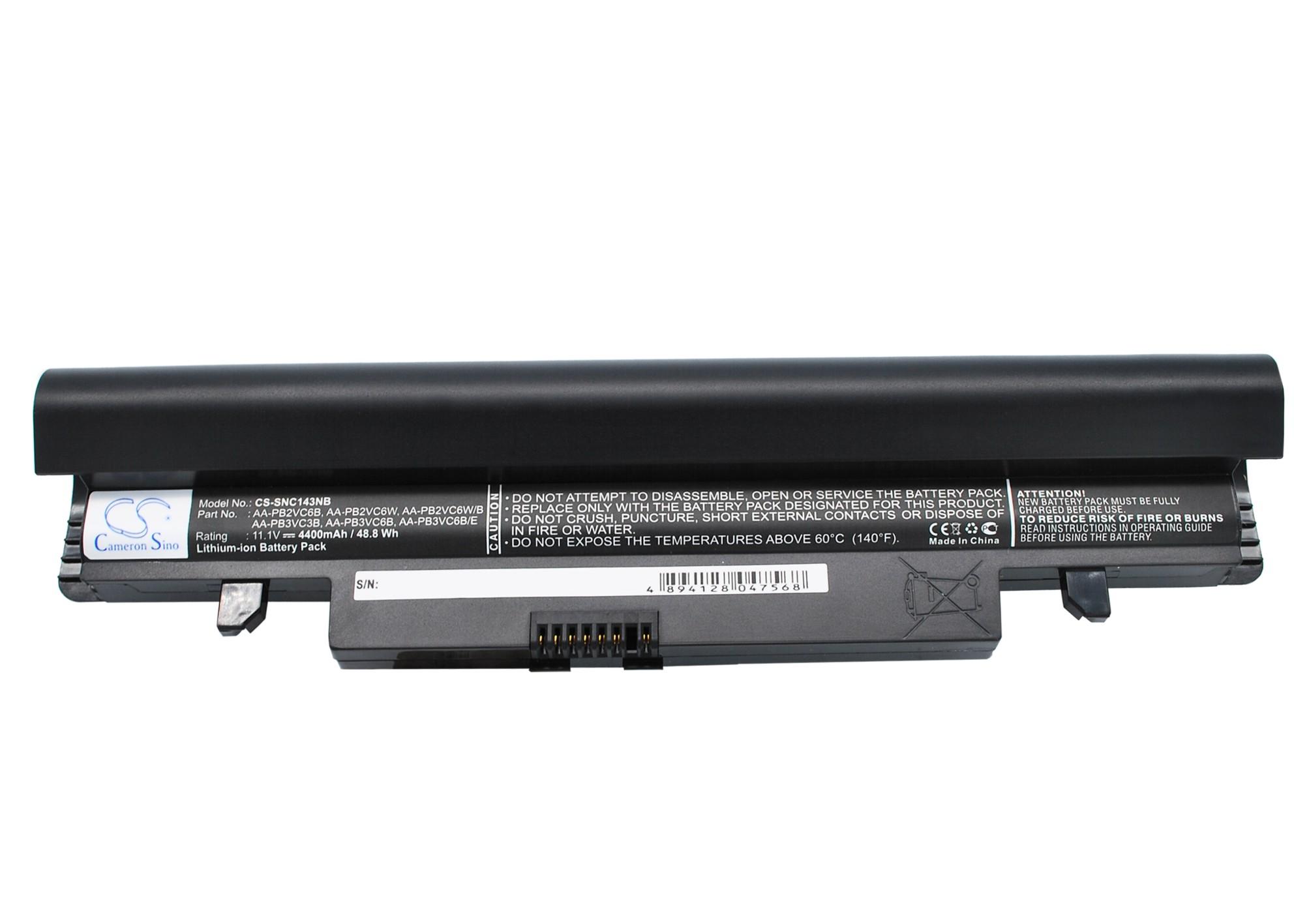 Cameron Sino baterie do notebooků pro SAMSUNG NP-N150 11.1V Li-ion 4400mAh černá - neoriginální