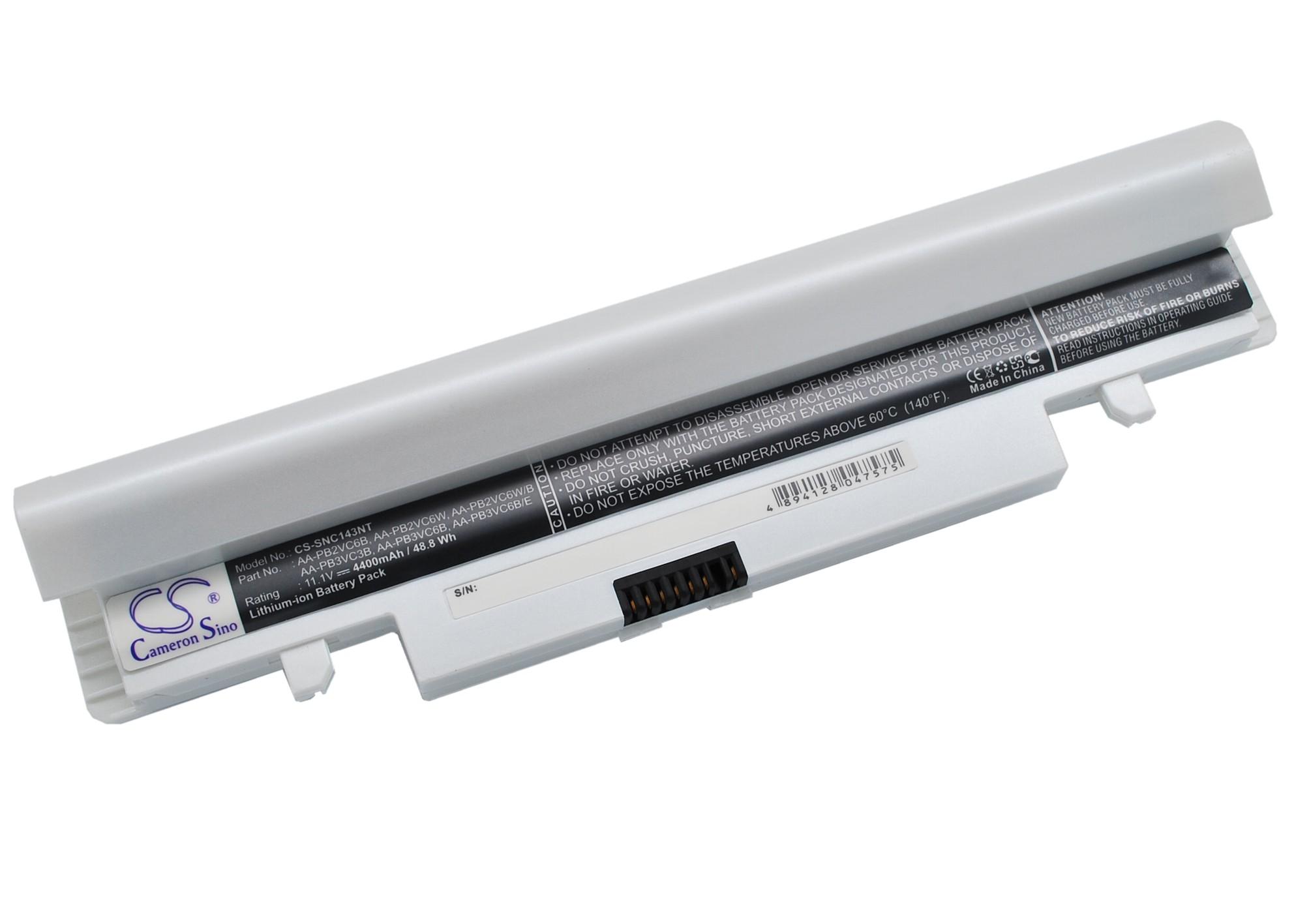 Cameron Sino baterie do notebooků pro SAMSUNG NP-N150 11.1V Li-ion 4400mAh perleťová - neoriginální