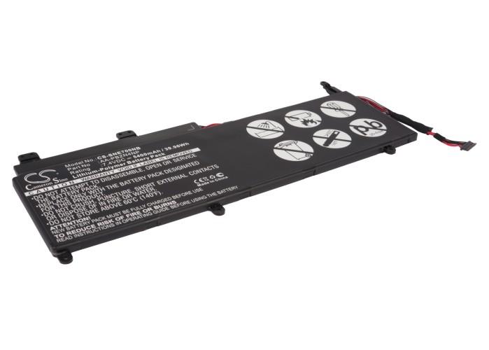 Cameron Sino baterie do notebooků pro SAMSUNG 700T 7.4V Li-Polymer 5400mAh černá - neoriginální