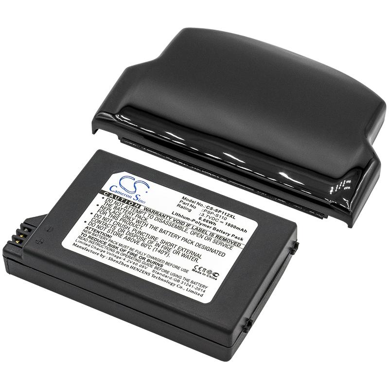 Cameron Sino baterie do herních konzolí pro SONY PSP-2000 3.7V Li-Polymer 1800mAh černá - neoriginální