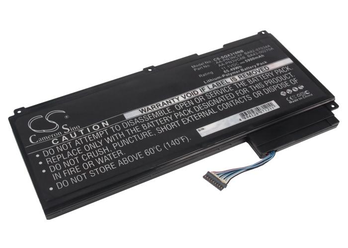 Cameron Sino baterie do notebooků pro SAMSUNG NP-SF310 11.1V Li-Polymer 5900mAh černá - neoriginální