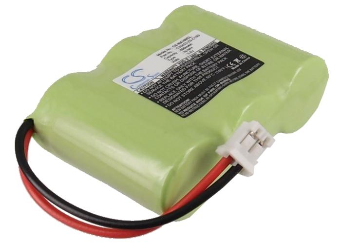 Cameron Sino baterie do bezdrátových telefonů pro PHILIPS Aleor Ana TD 9220 3.6V Ni-MH 600mAh zelená - neoriginální