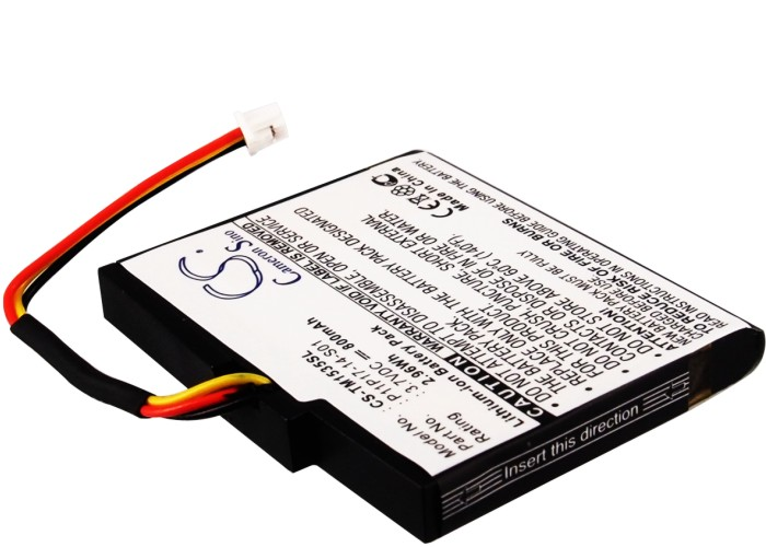 Cameron Sino baterie do navigací (gps) pro TOMTOM VIA 135M 3.7V Li-ion 800mAh černá - neoriginální