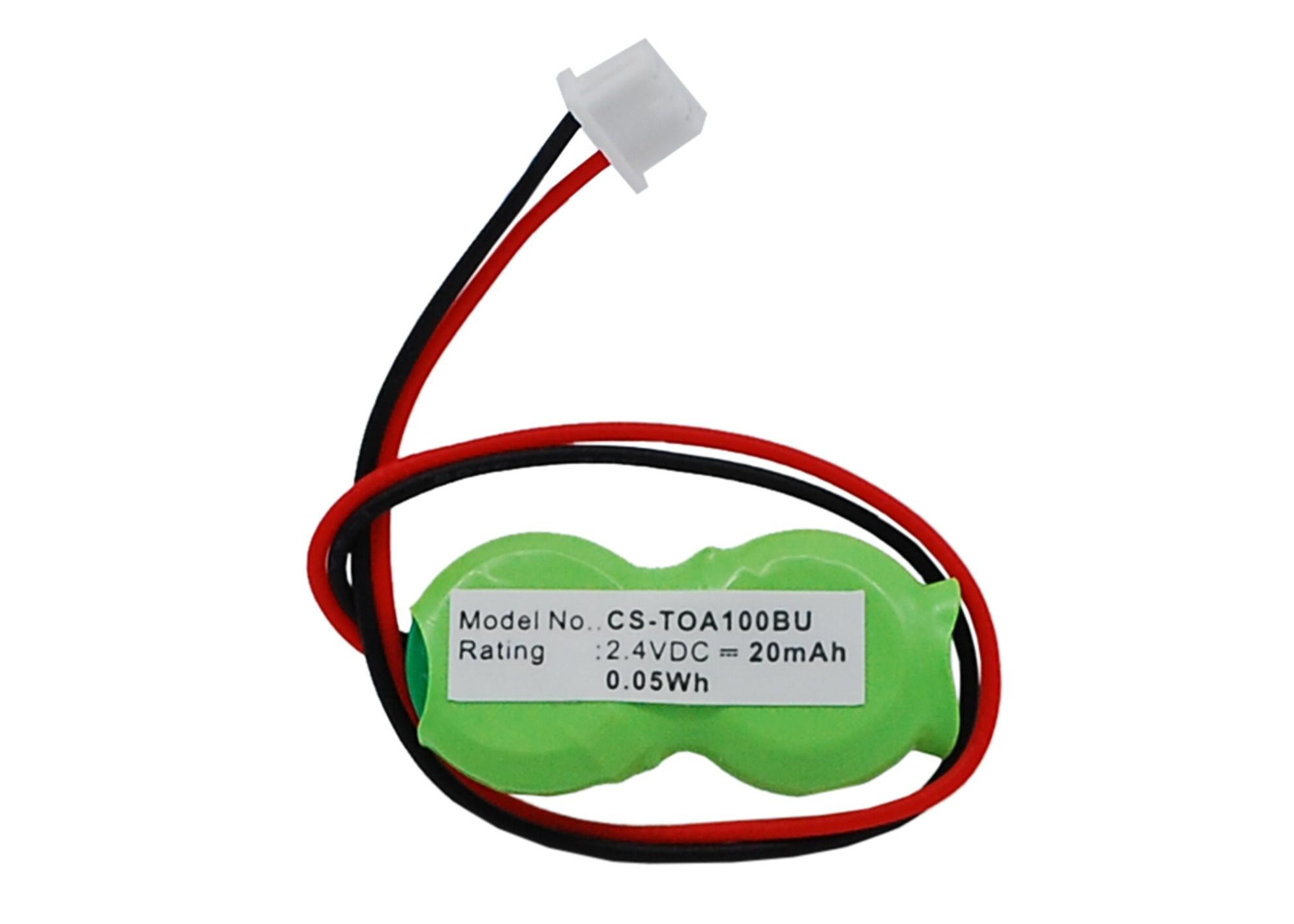 Cameron Sino baterie cmos pro TOSHIBA Portege R600-SP2801A 2.4V Ni-MH 20mAh zelená - neoriginální