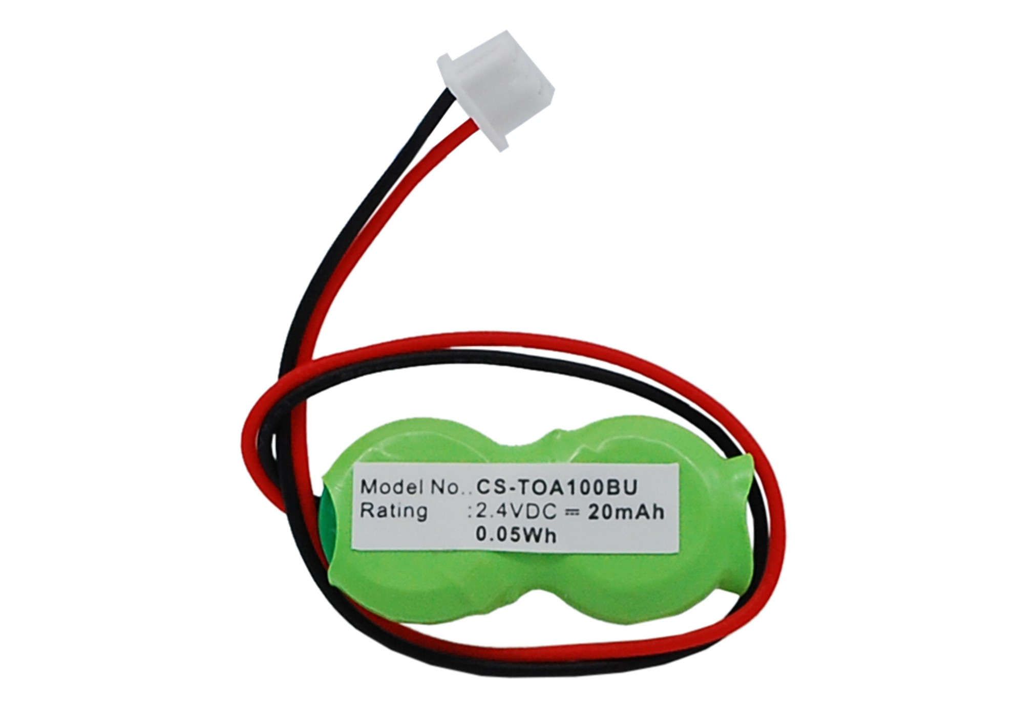 Cameron Sino baterie cmos pro TOSHIBA Tecra M9-S5515 2.4V Ni-MH 20mAh zelená - neoriginální