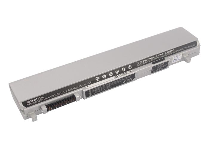 Cameron Sino baterie do notebooků pro TOSHIBA Portege R600-03F 11.1V Li-ion 4400mAh stříbrná - neoriginální
