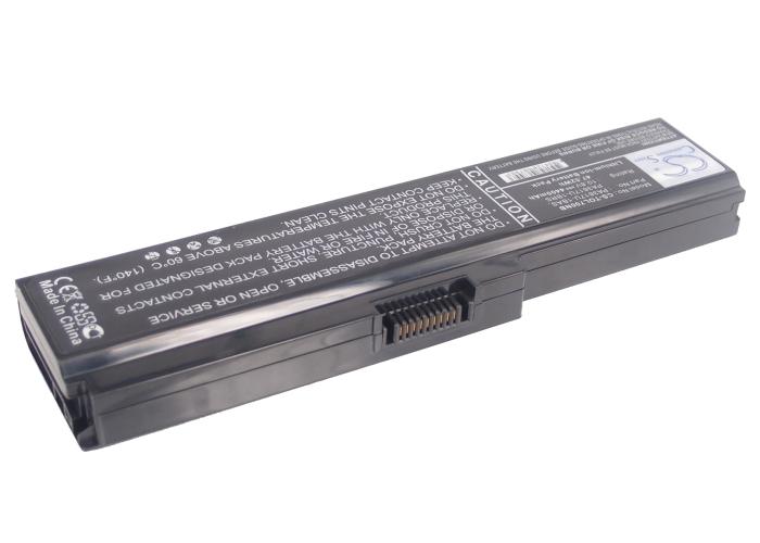 Cameron Sino baterie do notebooků pro TOSHIBA Satellite L750-17P 10.8V Li-ion 4400mAh černá - neoriginální