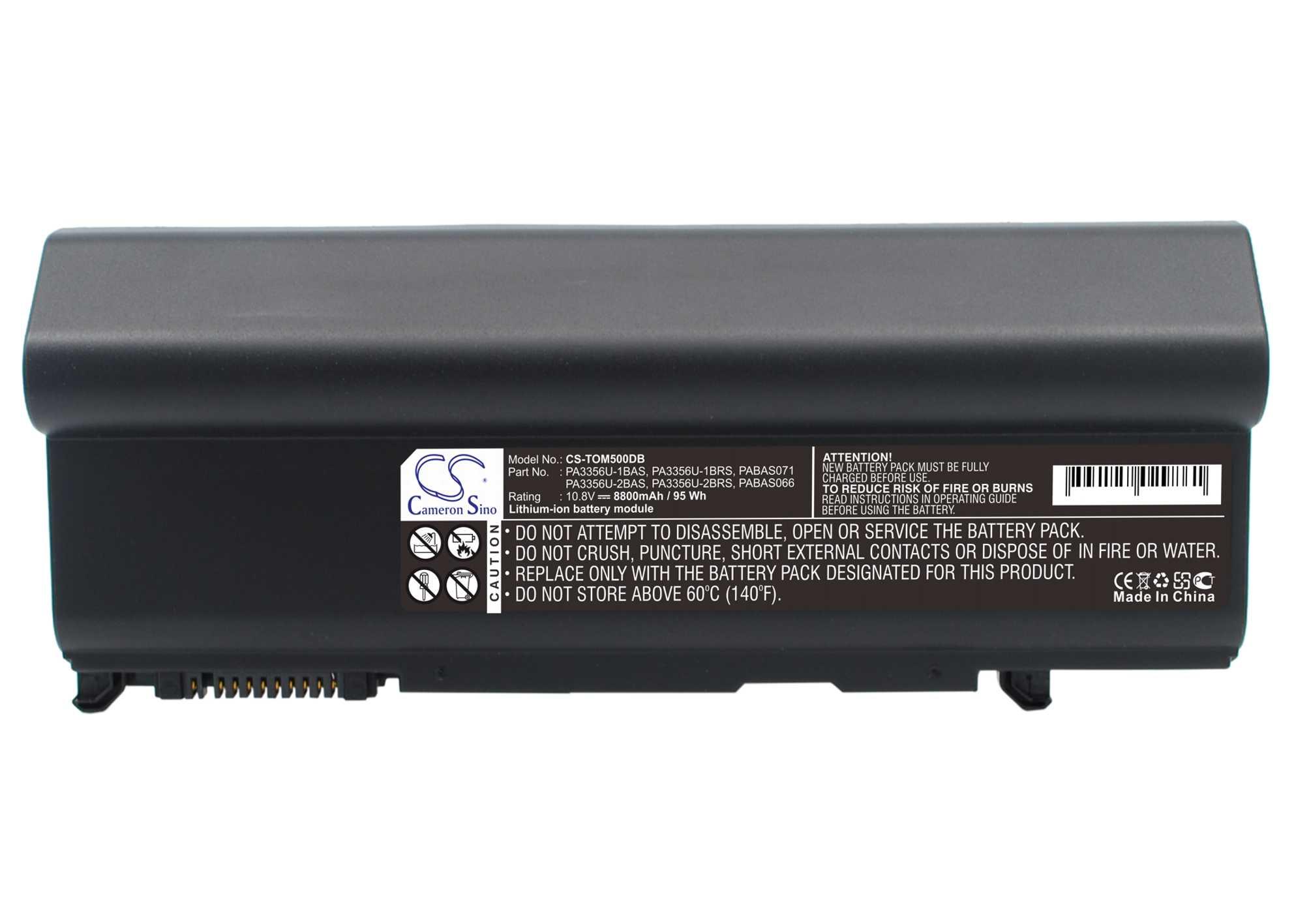 Cameron Sino baterie do notebooků pro TOSHIBA Tecra P10 10.8V Li-ion 8800mAh černá - neoriginální