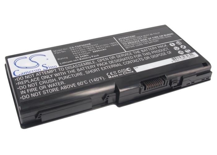 Cameron Sino baterie do notebooků pro TOSHIBA Satellite P500-1CG 10.8V Li-ion 8800mAh černá - neoriginální