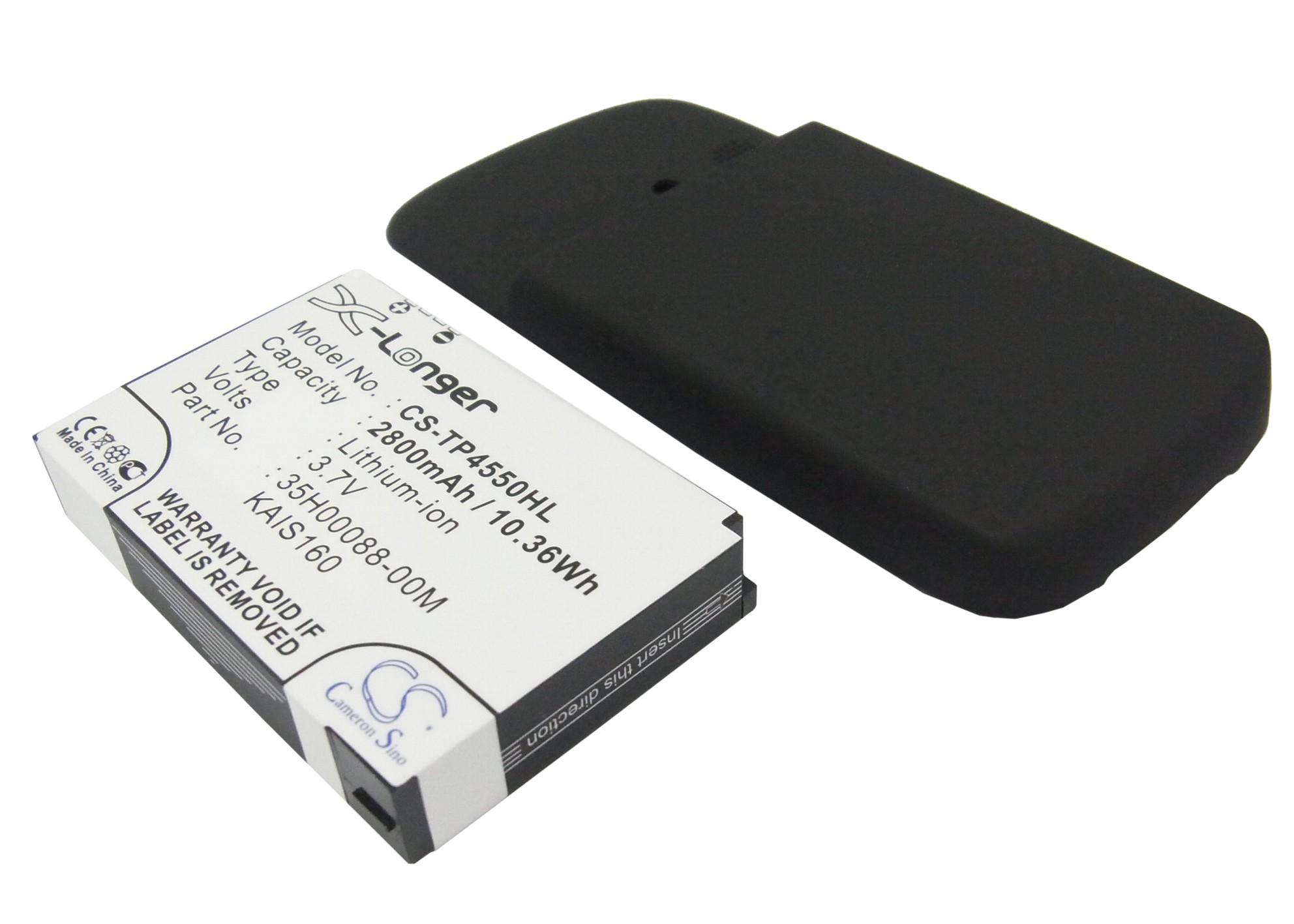 Cameron Sino baterie do mobilů pro HTC TyTN II 3.7V Li-Polymer 2800mAh černá - neoriginální