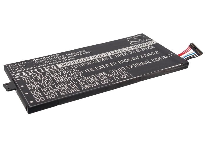 Cameron Sino baterie do tabletů pro TOSHIBA Regza AT1S0 3.7V Li-Polymer 5000mAh černá - neoriginální