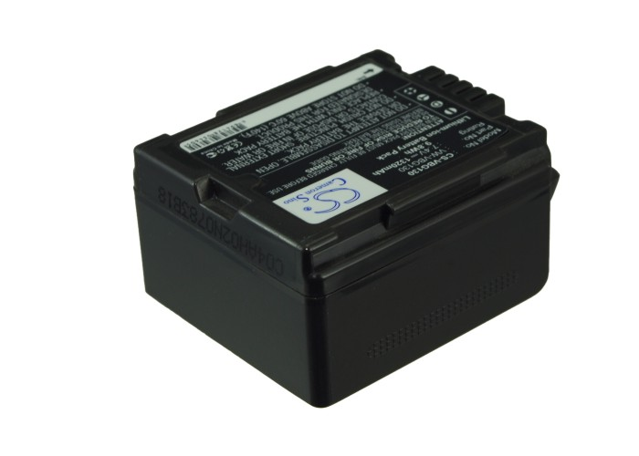 Cameron Sino baterie do kamer a fotoaparátů pro PANASONIC SDR-H50 7.4V Li-ion 1320mAh černá - neoriginální