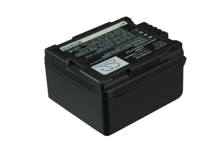 Cameron Sino baterie do kamer a fotoaparátů pro PANASONIC SDR-H80 7.4V Li-ion 1320mAh černá - neoriginální