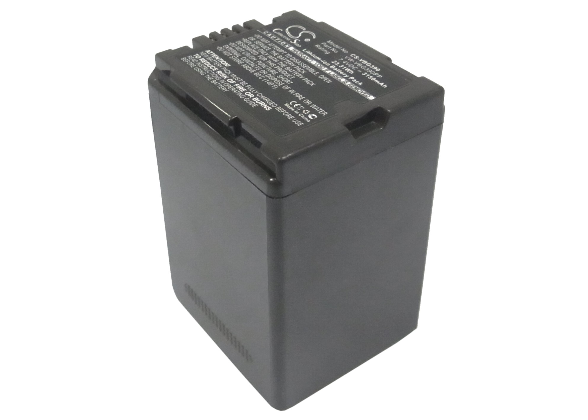 Cameron Sino baterie do kamer a fotoaparátů pro PANASONIC HDC-DX1 7.4V Li-ion 3150mAh šedá - neoriginální