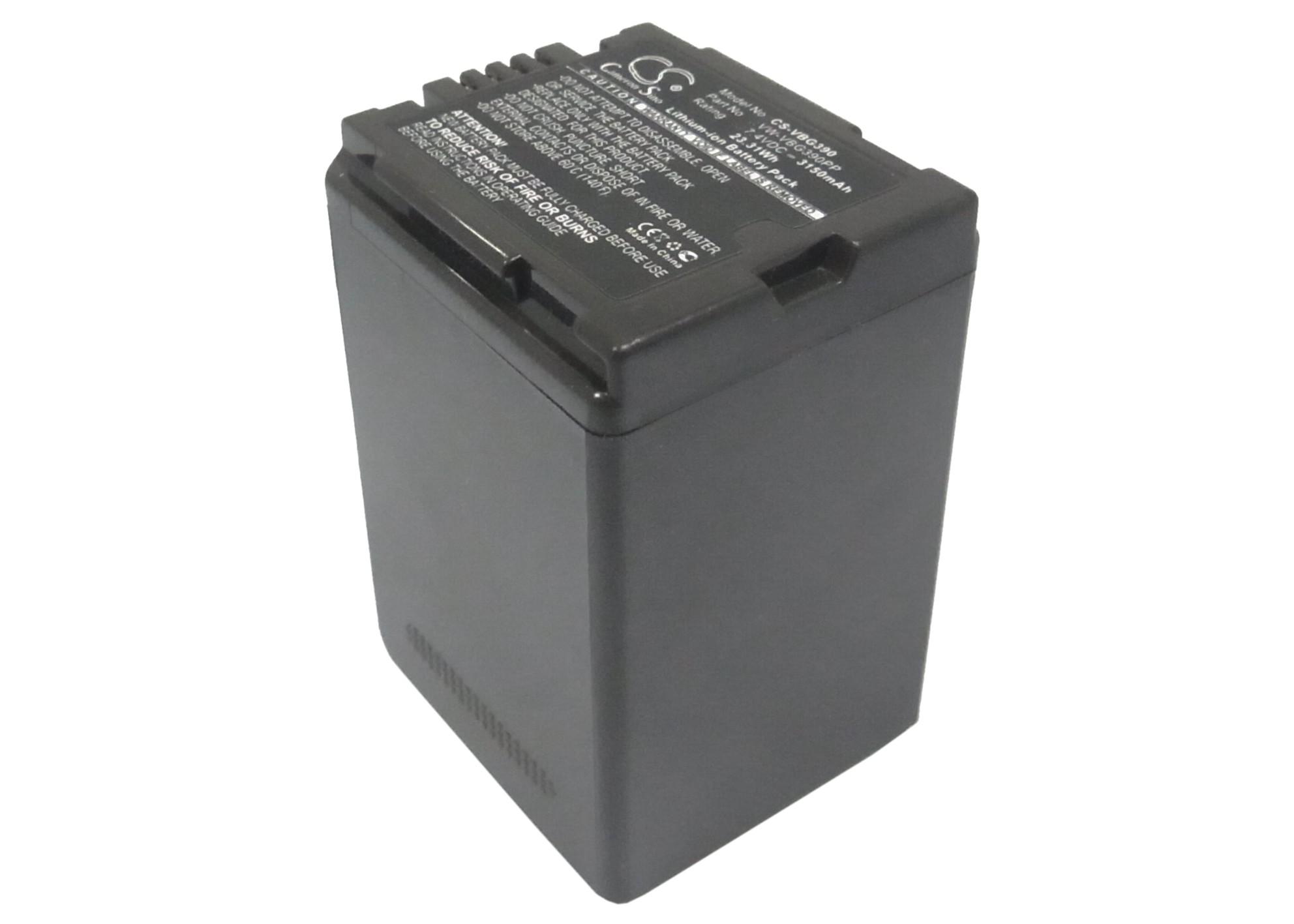 Cameron Sino baterie do kamer a fotoaparátů pro PANASONIC HDC-HS100 7.4V Li-ion 3150mAh šedá - neoriginální