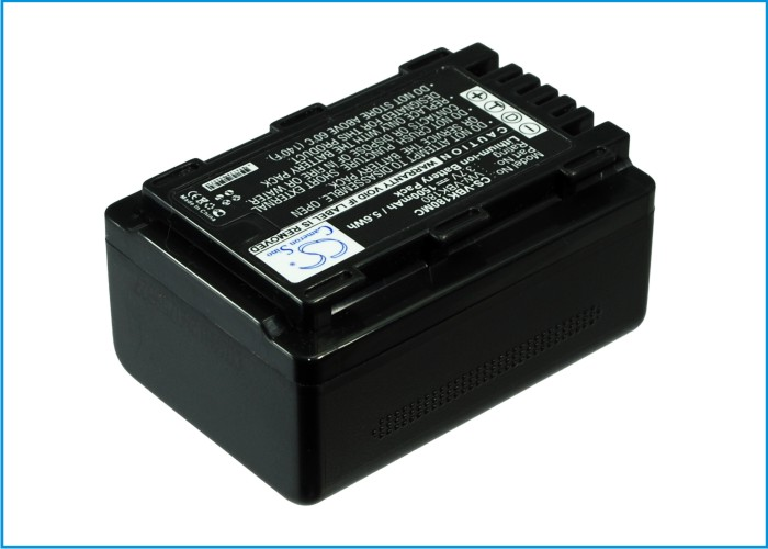 Cameron Sino baterie do kamer a fotoaparátů pro PANASONIC HC-V10EB-R 3.7V Li-ion 1500mAh černá - neoriginální