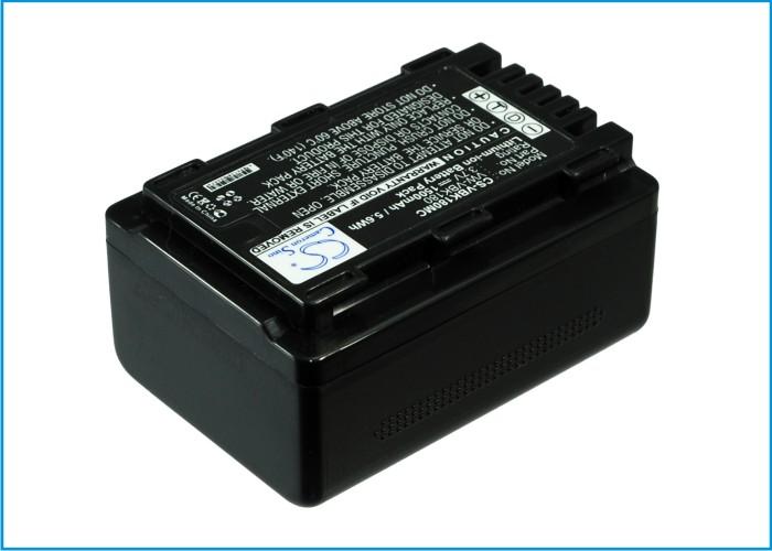Cameron Sino baterie do kamer a fotoaparátů pro PANASONIC SDR-H101 3.7V Li-ion 1500mAh černá - neoriginální