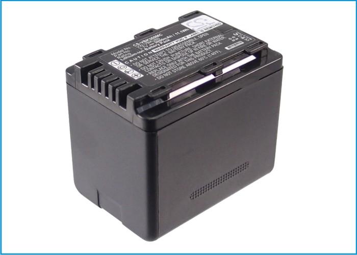 Cameron Sino baterie do kamer a fotoaparátů pro PANASONIC HDC-TM60 3.7V Li-ion 3000mAh černá - neoriginální