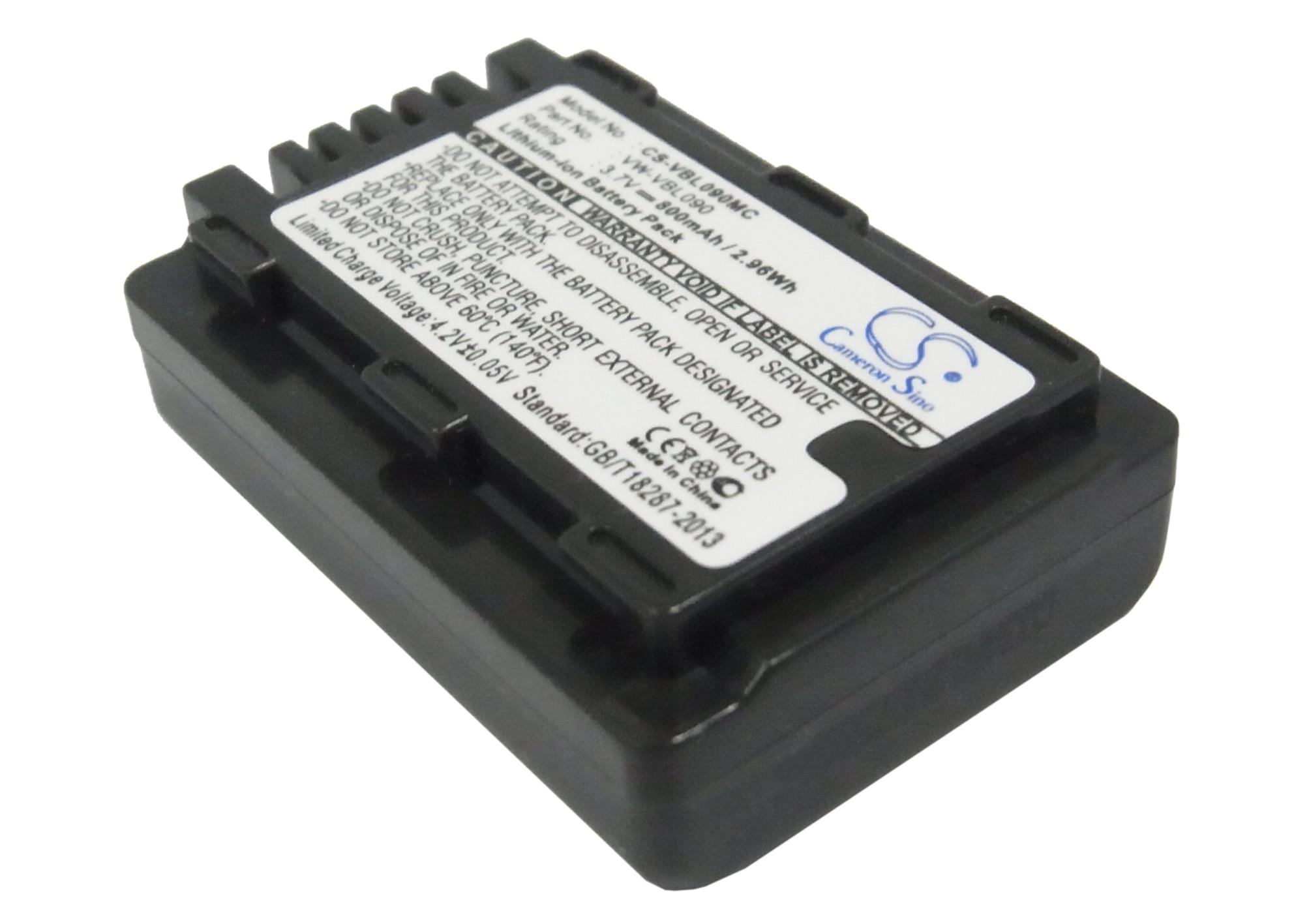 Cameron Sino baterie do kamer a fotoaparátů pro PANASONIC HDC-TM60 3.7V Li-ion 800mAh černá - neoriginální