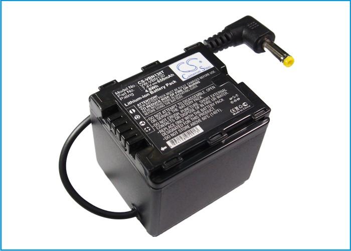 Cameron Sino baterie do kamer a fotoaparátů pro PANASONIC HDC-HS900 7.4V Li-ion 650mAh černá - neoriginální