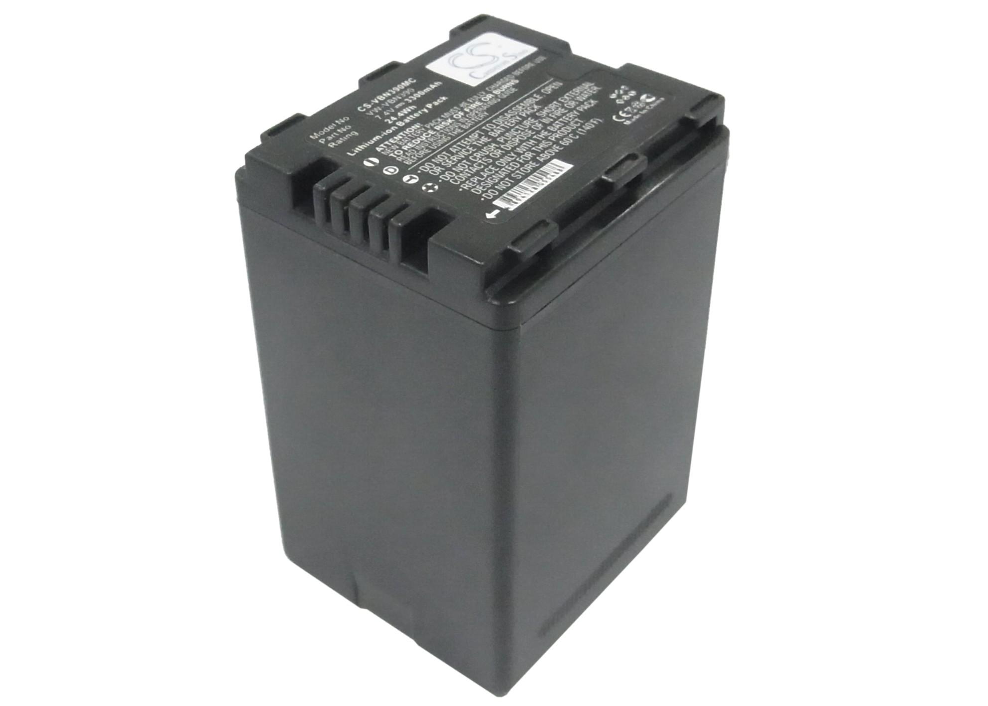 Cameron Sino baterie do kamer a fotoaparátů pro PANASONIC HDC-HS900 7.4V Li-ion 3300mAh černá - neoriginální
