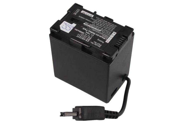 Cameron Sino baterie do kamer a fotoaparátů pro JVC GZ-MS210 3.7V Li-ion 3000mAh černá - neoriginální