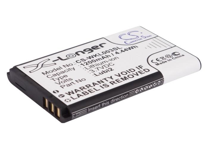 Cameron Sino baterie do mobilů pro ALIGATOR A500i 3.7V Li-ion 1200mAh černá - neoriginální