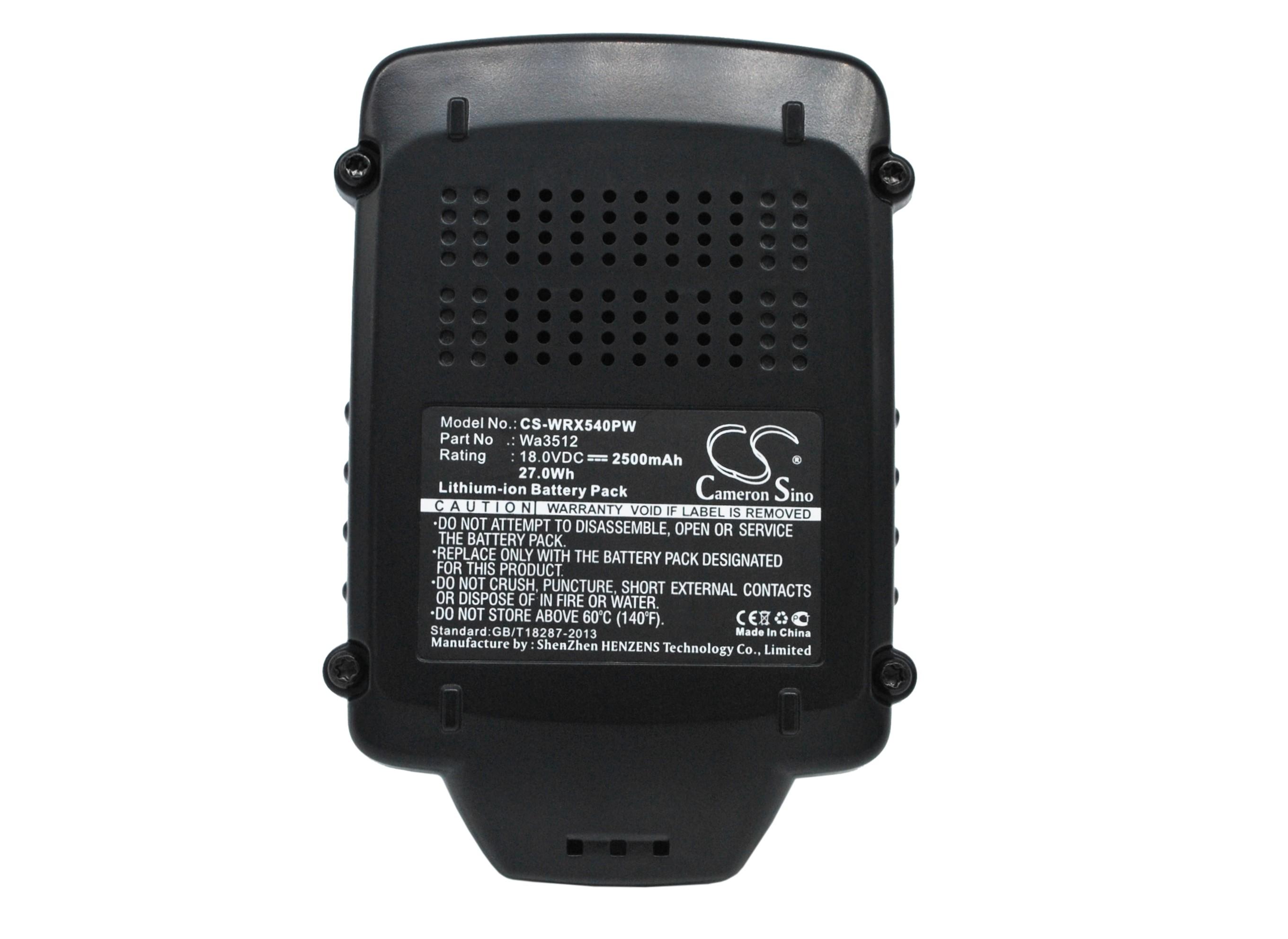 Cameron Sino baterie do nářadí pro AL-KO Rasentrimmer GTLi 18V Li-ion 1500mAh černá - neoriginální