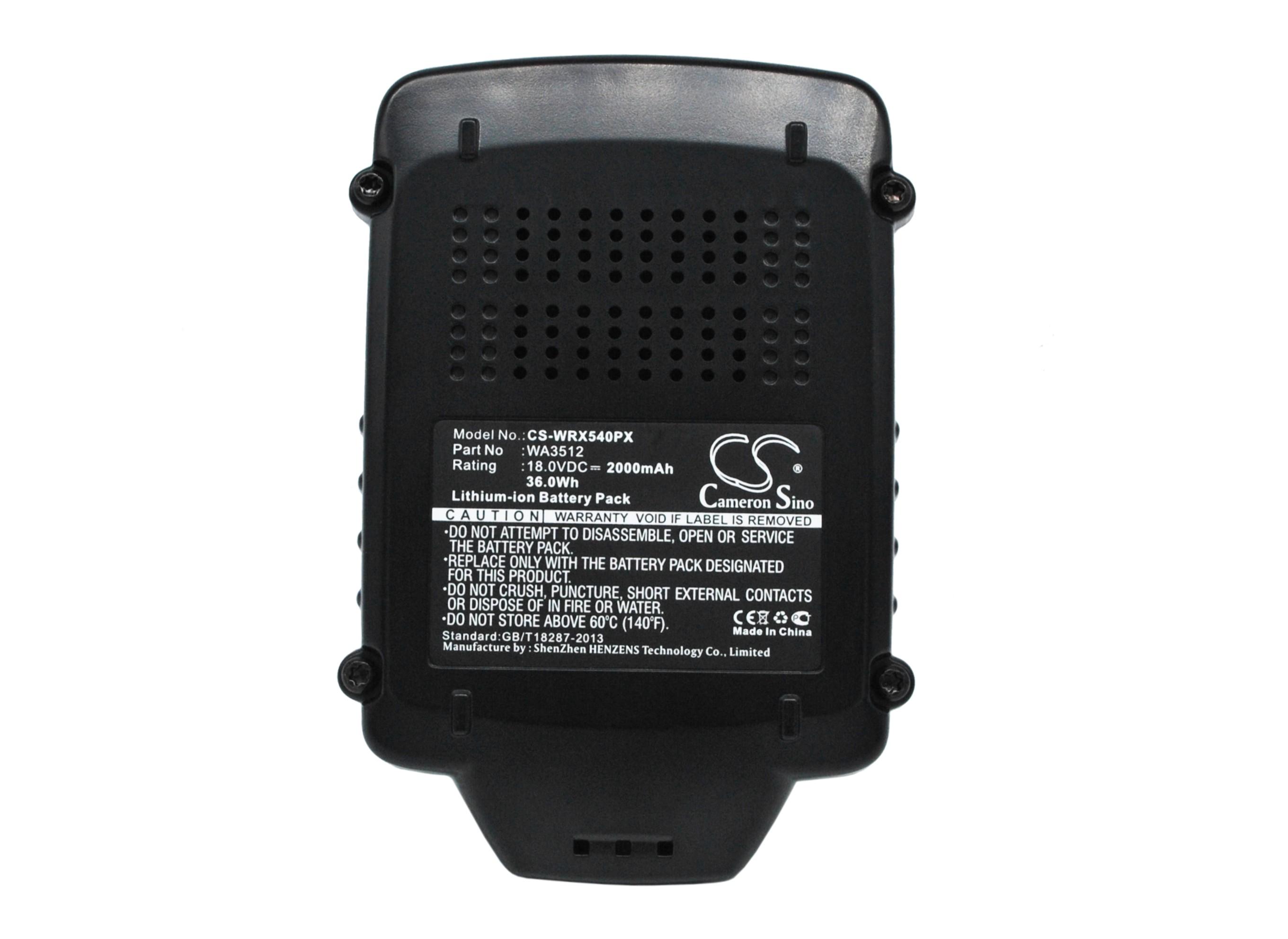 Cameron Sino baterie do nářadí pro AL-KO Rasentrimmer GTLi 18V Li-ion 2000mAh černá - neoriginální