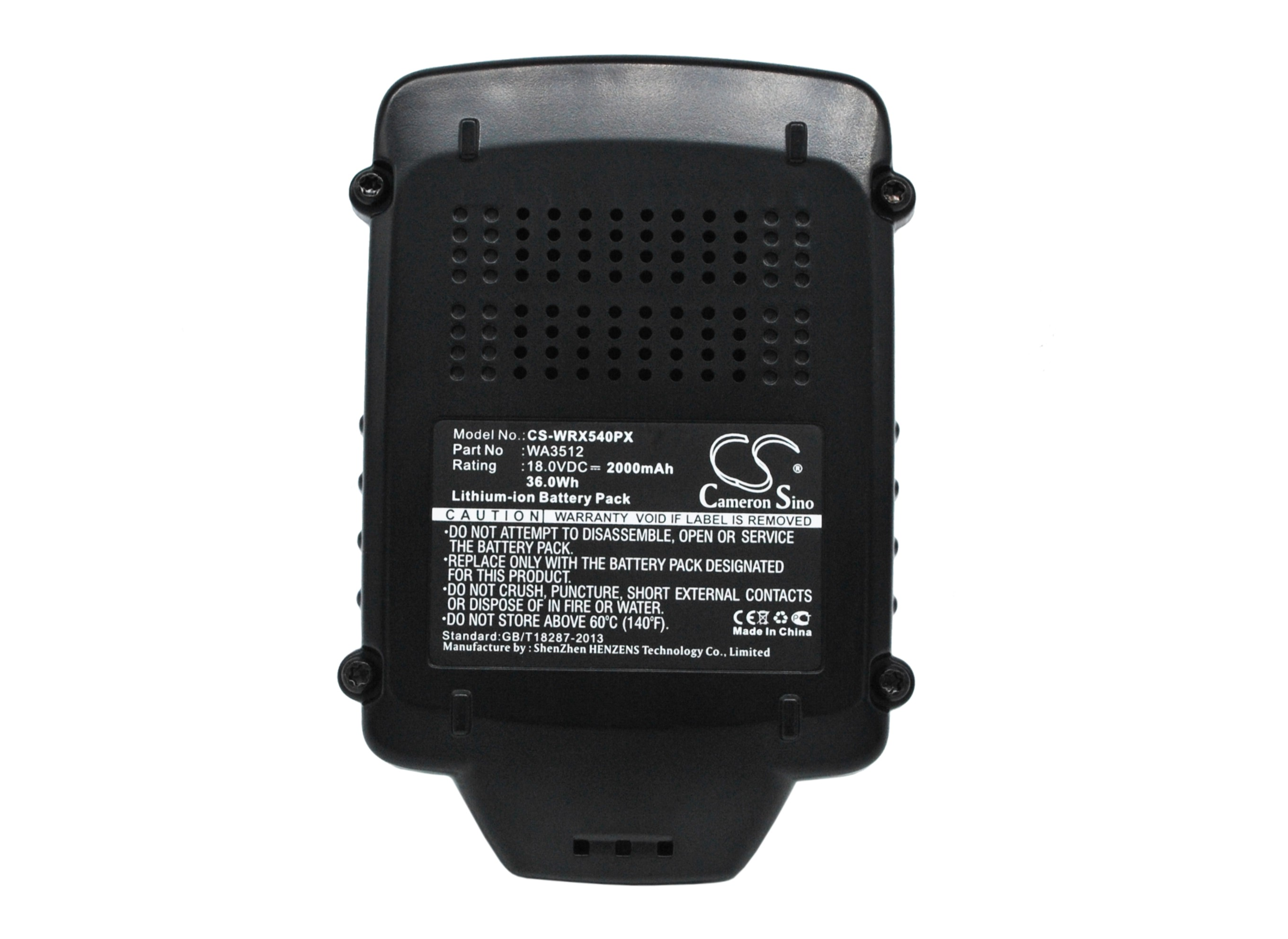 Cameron Sino baterie do nářadí pro AL-KO Trimmer GTLi 18V Comfort 18V Li-ion 2000mAh černá - neoriginální