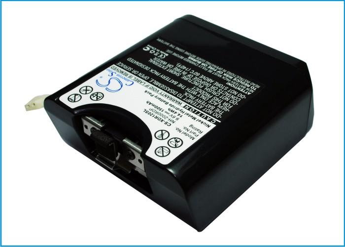 Cameron Sino baterie do digitálních rádií pro SONY XDR-DS12iP 9.6V Ni-MH 1500mAh černá - neoriginální
