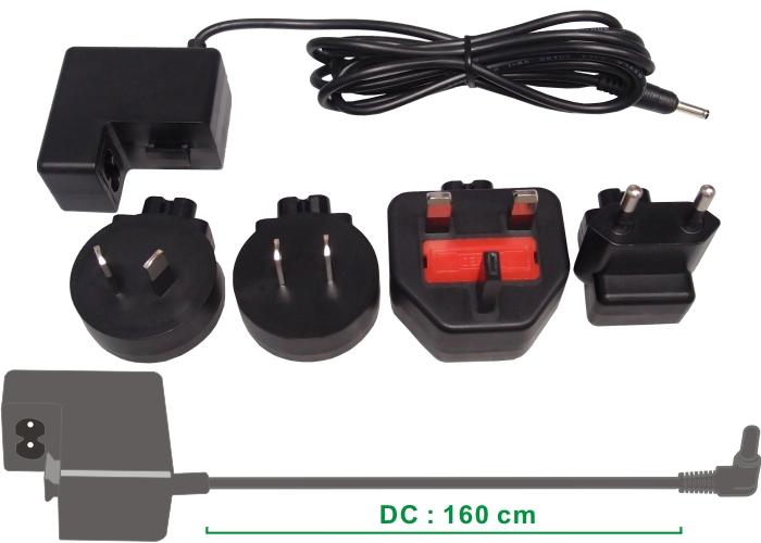 Cameron Sino nabíječky pro dvd přehrávače za AC-FX100 černá - neoriginální