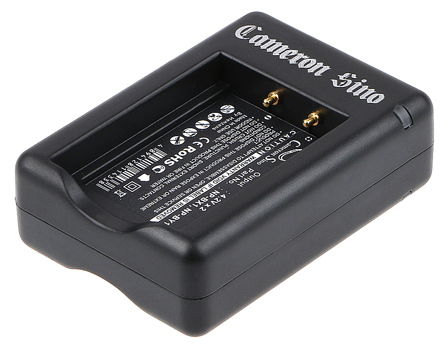 Cameron Sino nabíječky pro kamery a fotoaparáty pro SONY Cyber-shot DSC-WX300/T černá - neoriginální