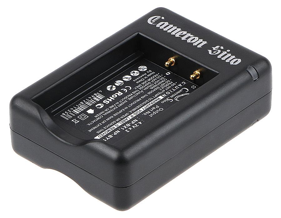 Cameron Sino nabíječky pro kamery a fotoaparáty pro SONY Cyber-shot DSC-WX300/W černá - neoriginální