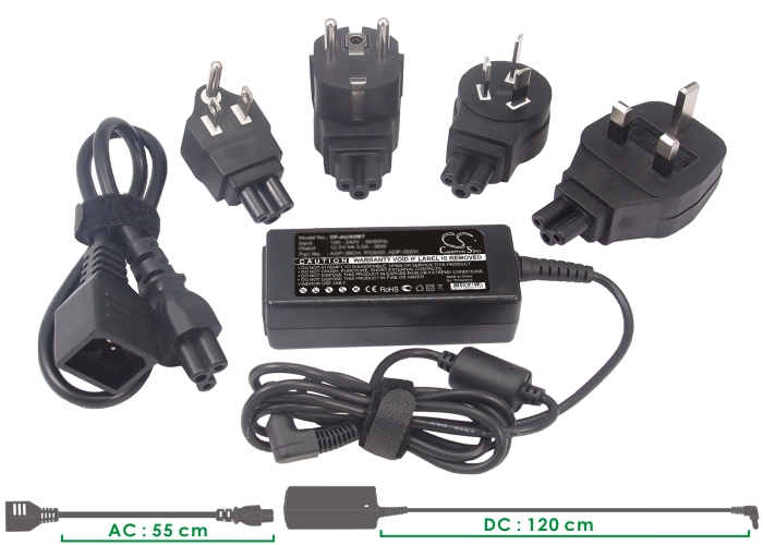 Cameron Sino adaptéry pro notebooky pro HP Folio 13-1015TU černá - neoriginální