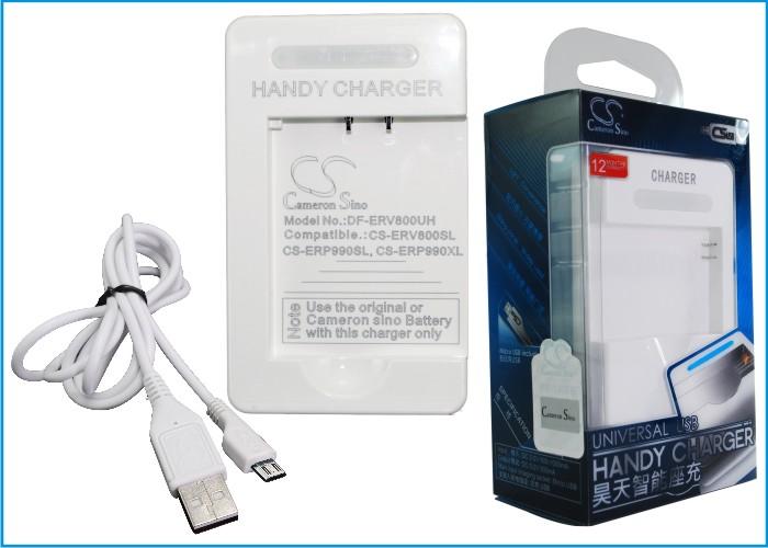 Cameron Sino stolní usb nabíječky pro SONY NW-HD5 Silver bílá - neoriginální