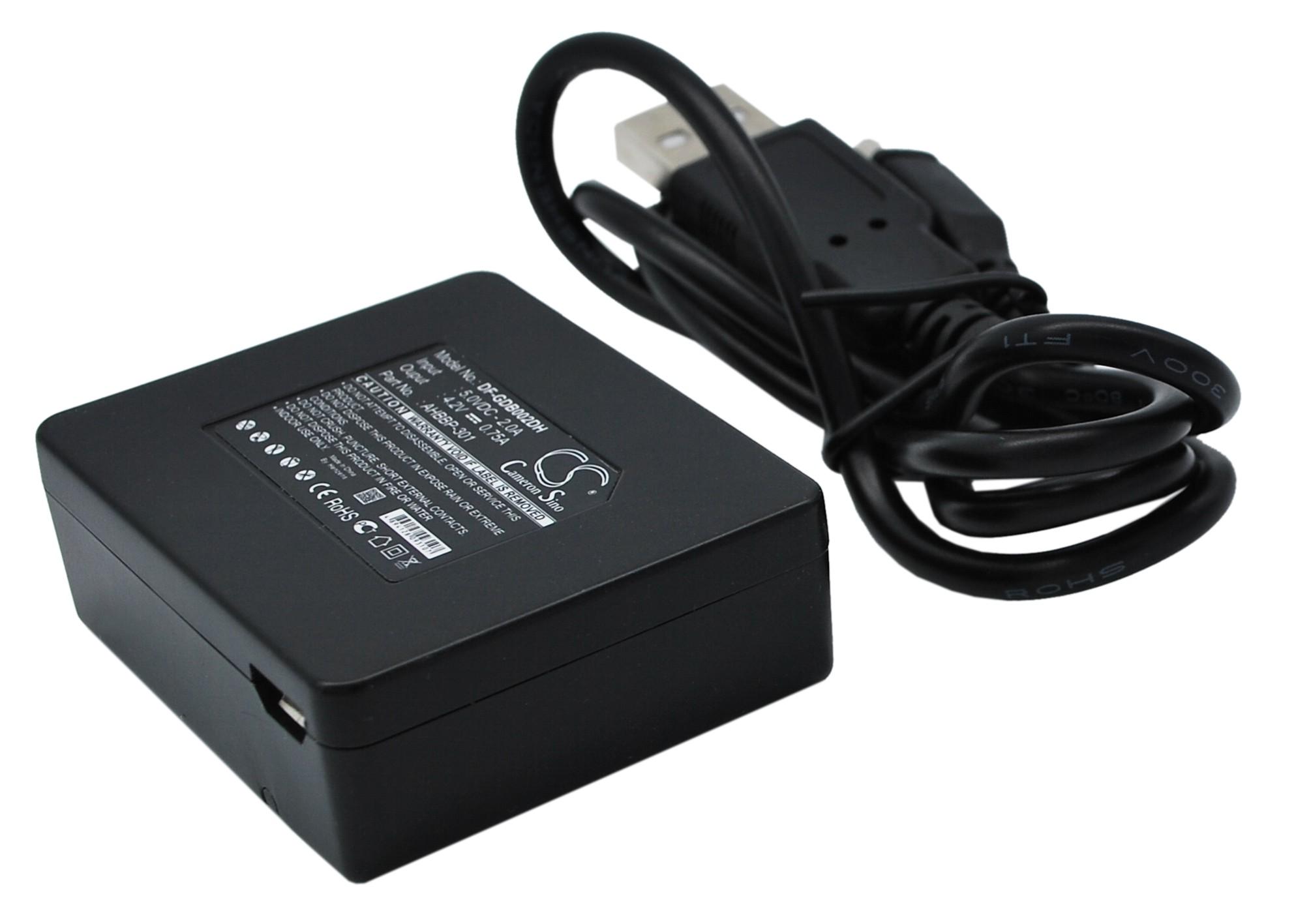 Cameron Sino nabíječky pro kamery a fotoaparáty pro GOPRO HD Hero3 Black Editionm HD Hero3 White Editionm HD Hero3 Black Editionm HD Hero3 černá - neoriginální