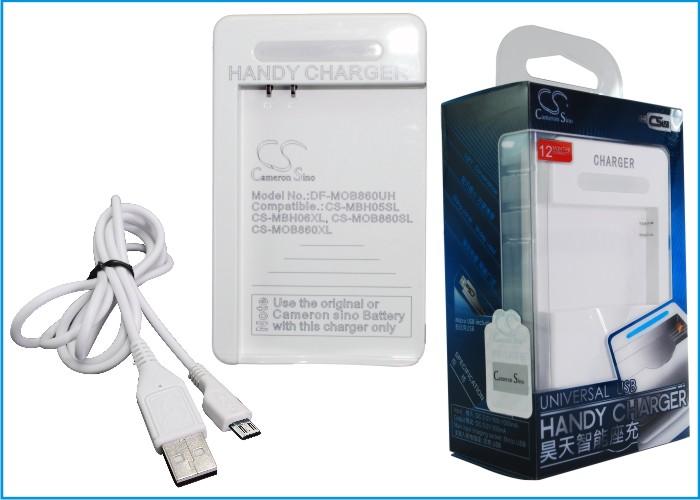 Cameron Sino stolní usb nabíječky pro MOTOROLA Droid X2 bílá - neoriginální