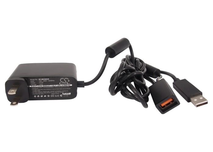Cameron Sino nabíječky pro herní konzole pro MICROSOFT Xbox 360 kinect console černá - neoriginální