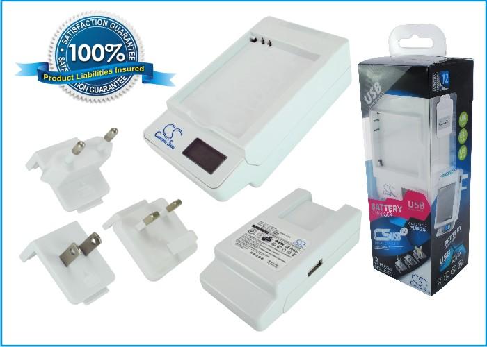 Cameron Sino stolní nabíječky pro SAMSUNG i8910 Omnia HD bílá - neoriginální